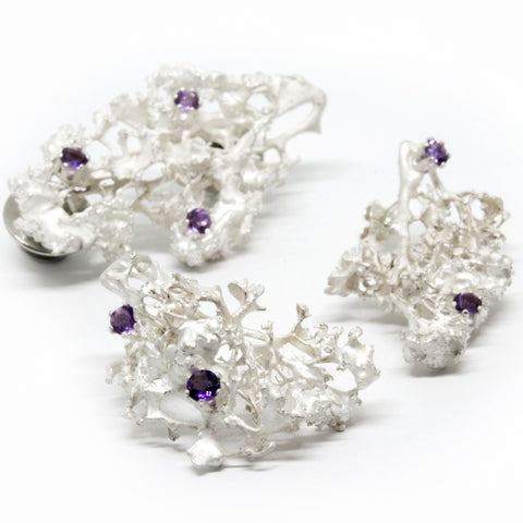 "Set ""MOSSI"" with Amethysts - Ehestu's Special Edition"