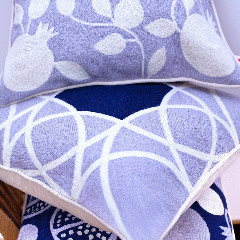 "Decorative Pillow ""Geometric Pomegranate"""