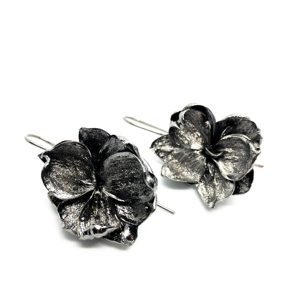 "Earrings ""Double Lilacs"""