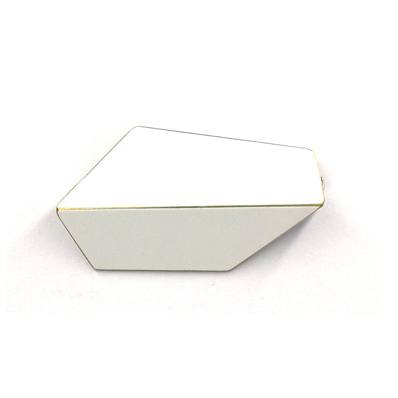 "Folded Brooch ""Signal White"""