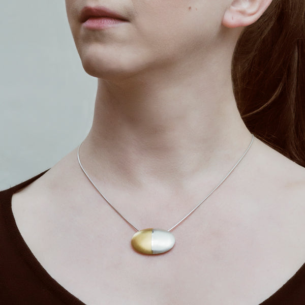 "Necklace ""Lengthwise"""