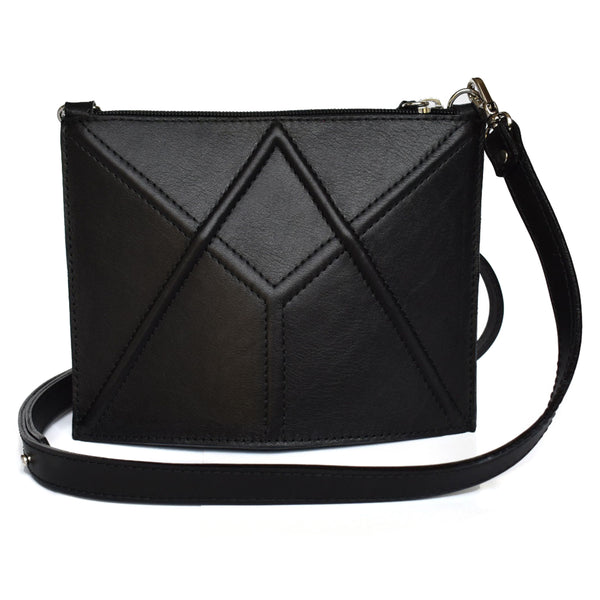 "Facet mini bag ""Black"""