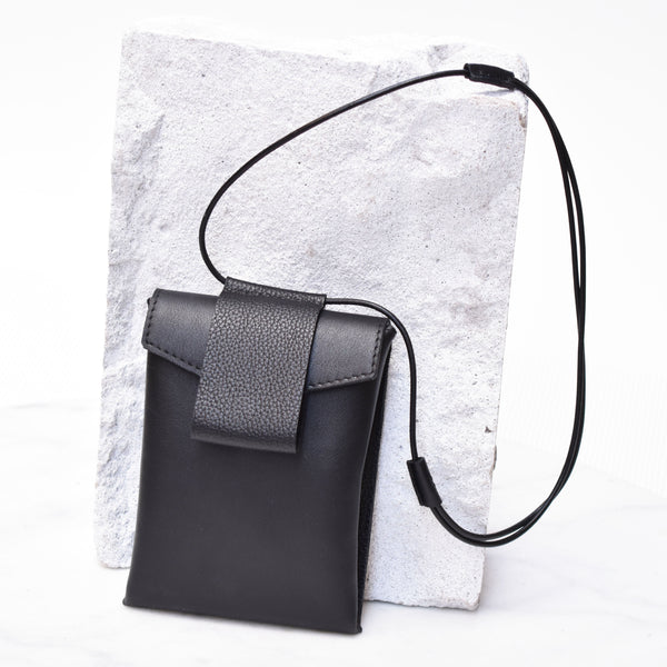"Luce Neck Bag ""Black"""