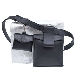 "Luce Belt Bag ""Black"""