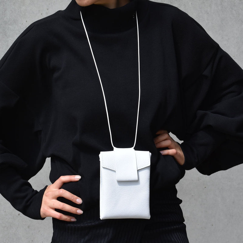 "Luce Neck Bag ""White"""