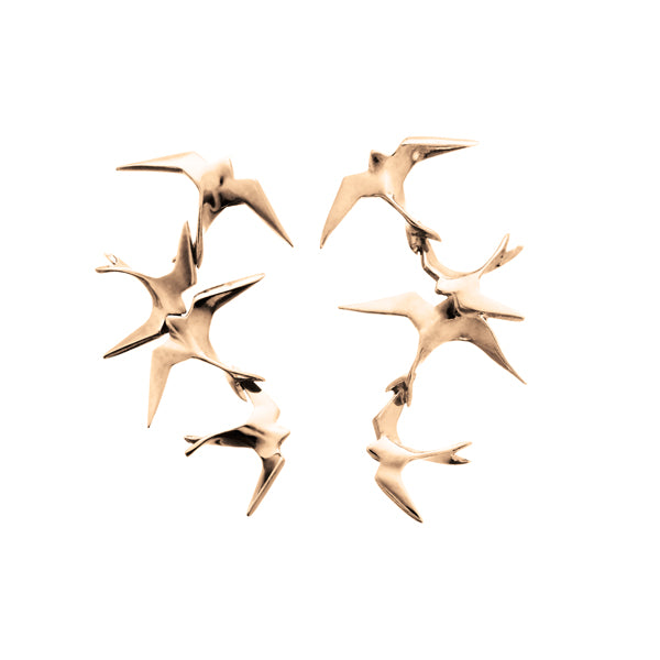 "Freedom Earrings ""Flock"""