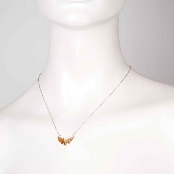 Gold Butterfly Pendant