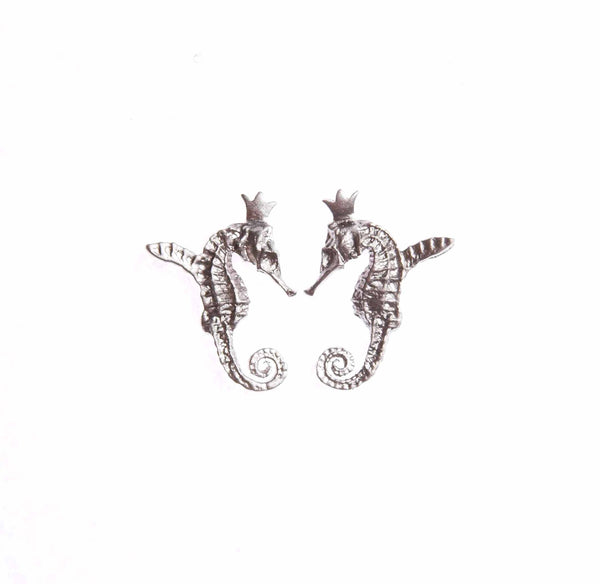 "HIPPO COUTURE Earrings ""Hippocamp Light"""