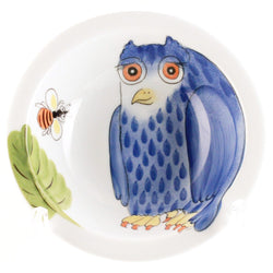 "Small Bowl ""Blue Owl"""