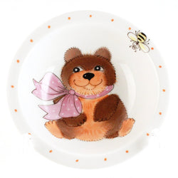 "Small Bowl ""Bear Girl"""