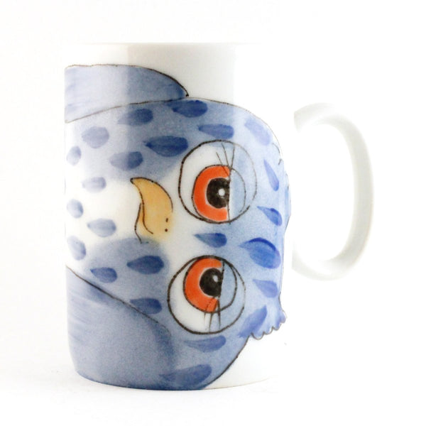 "Small Mug ""Blue Owl"""