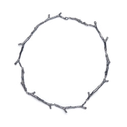 "Thicket Beauty Necklace ""Leafless Twig"""