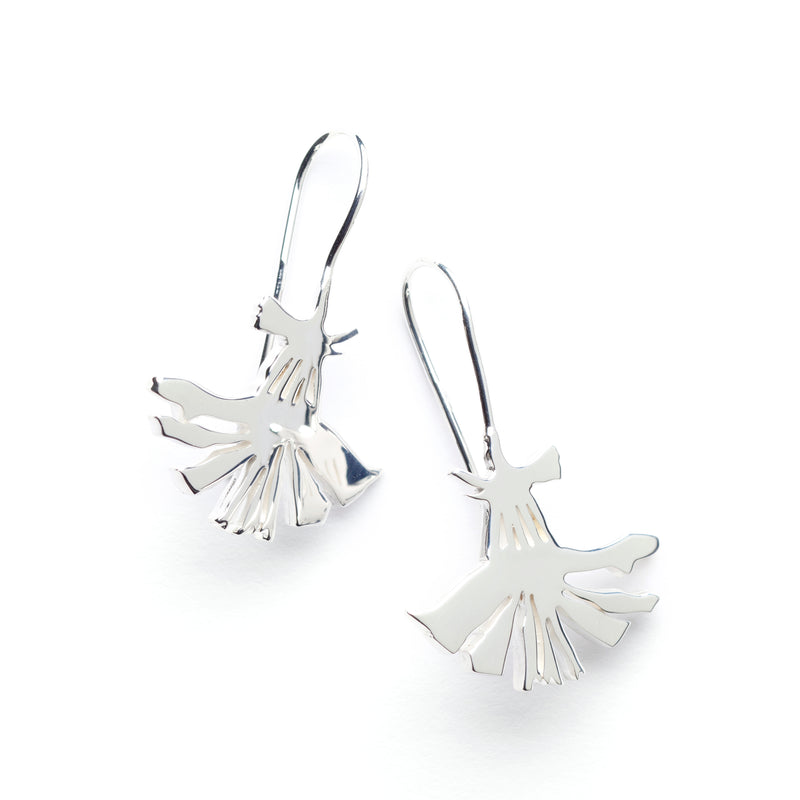 "Dandelion Earrings ""Flower"""