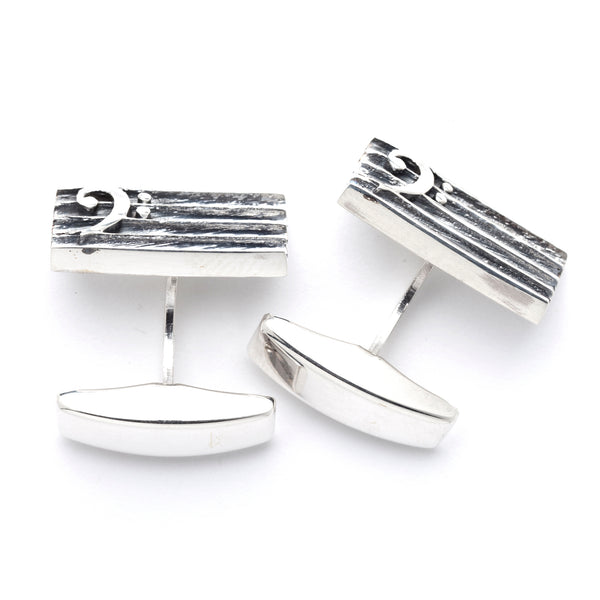 "Dedicated To Pärt Cufflinks ""Bass Key"""