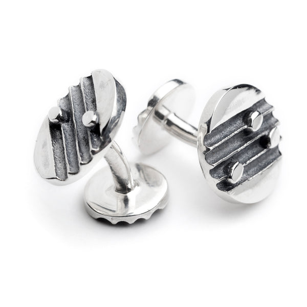 "Dedicated To Pärt Cufflinks ""Echo"""