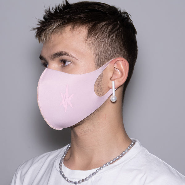 "Mask ""Pink Drift"" Pink"