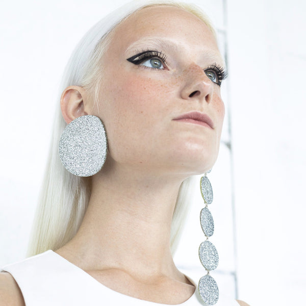 "SOHO Earrings ""Silver"" M"
