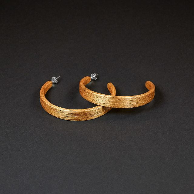 "Hoop Earrings ""Iroko"" L"