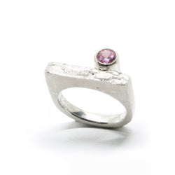 "Ring ""KÕIV"" with Cubic Zirconia"