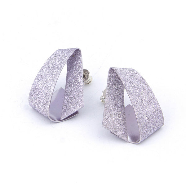 "Koi Ginrin Earrings ""Lilac"""