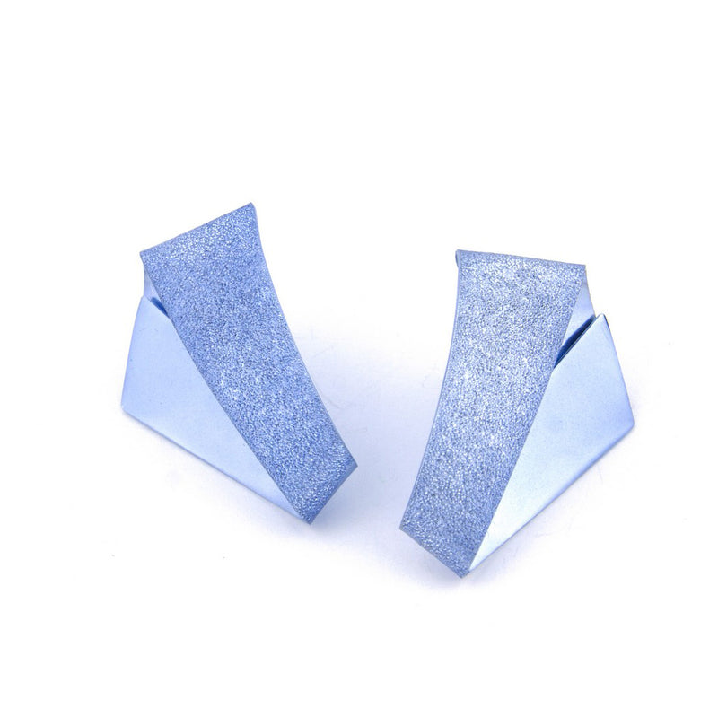 "Koi Kawarimono Earrings ""Light Blue"""