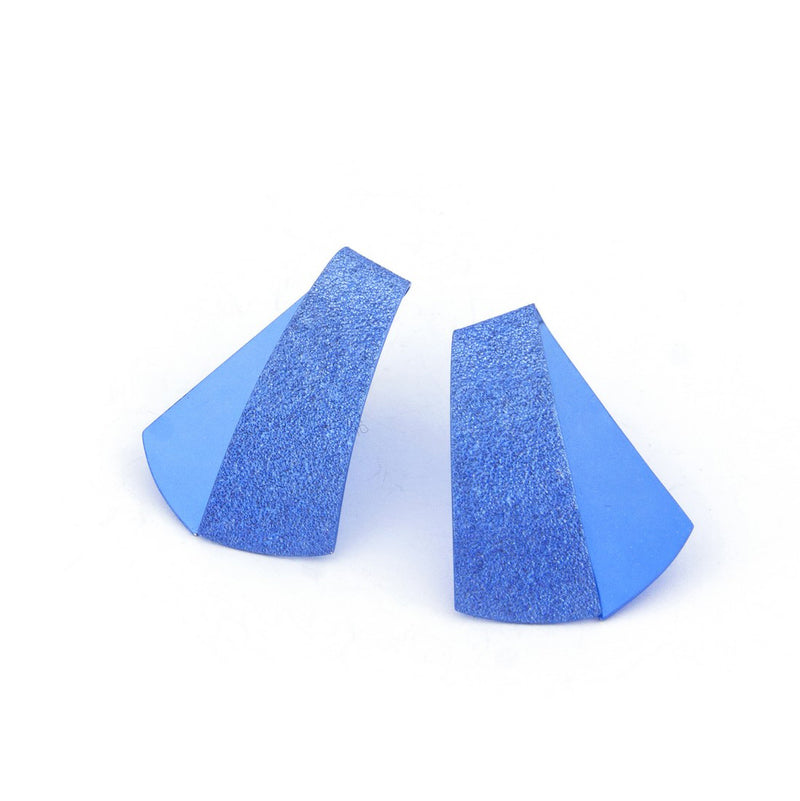 "Koi Earrings ""Blue"""