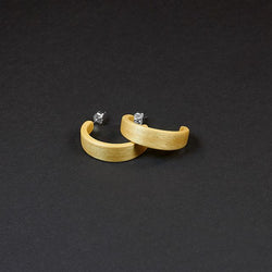 "Hoop Earrings ""Birch"" S"