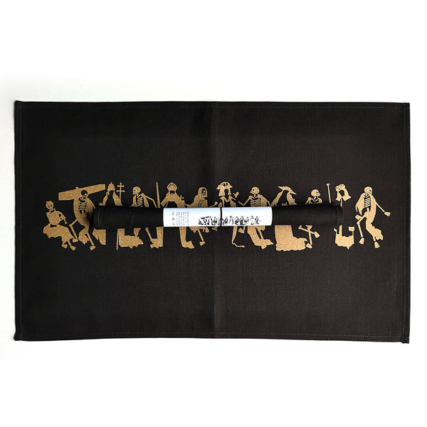 "Tea Towel ""Dance of Death"""