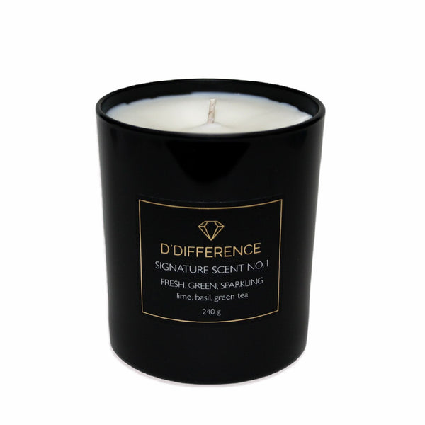 "Candle ""SIGNATURE SCENT NO.1"""