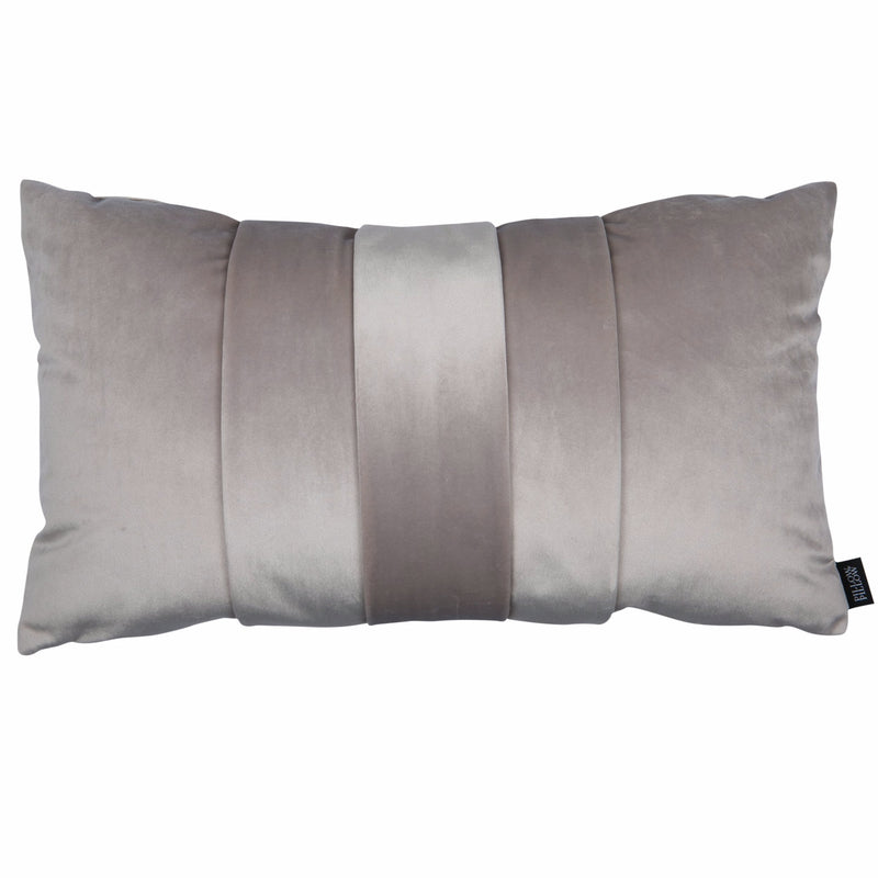 "Velvet Trio Mini Decorative Pillow ""Velvet Beige"""