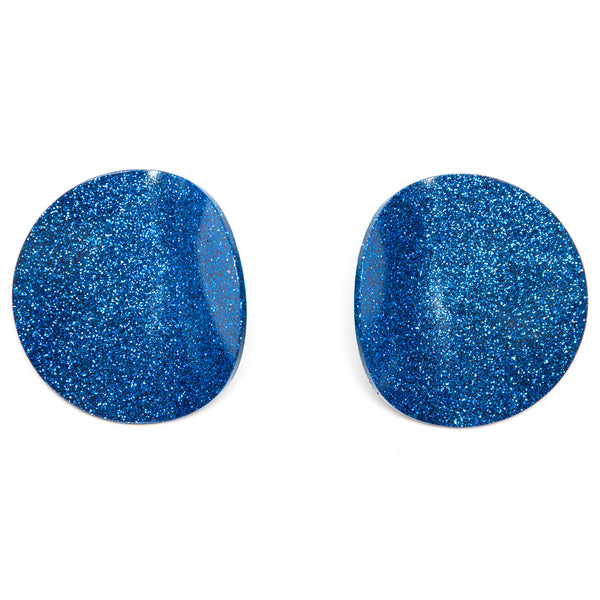 "SOHO Earrings ""Blue"" M"