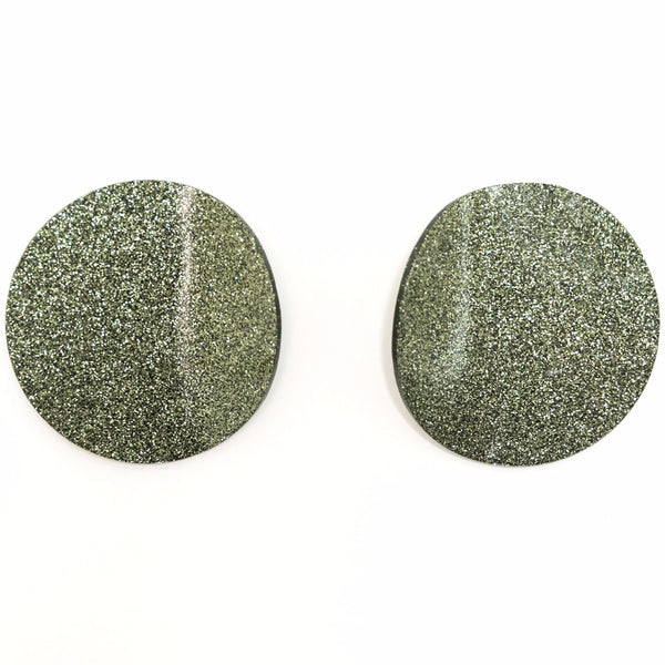 "SOHO Earrings ""Dark Olive"" M"