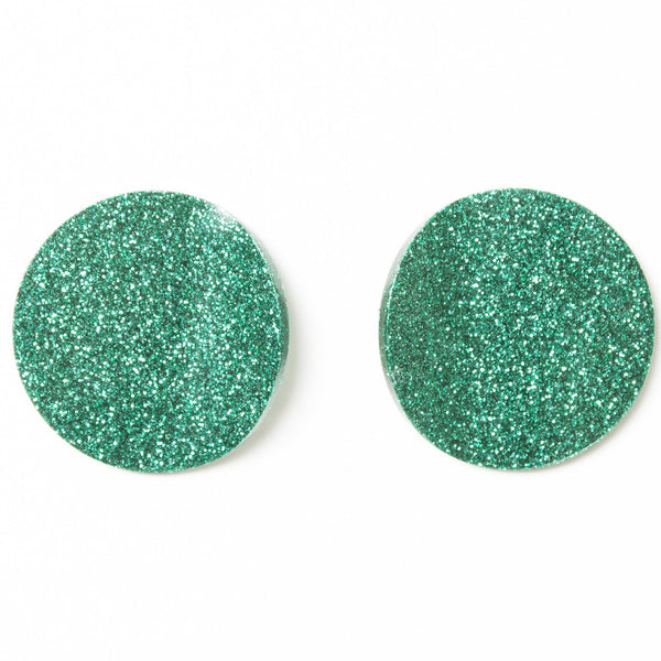"SOHO Earrings ""Emerald"" M"