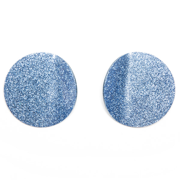 "SOHO Earrings ""Light Blue"" M"