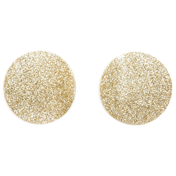 "SOHO Earrings ""Light Gold"" M"
