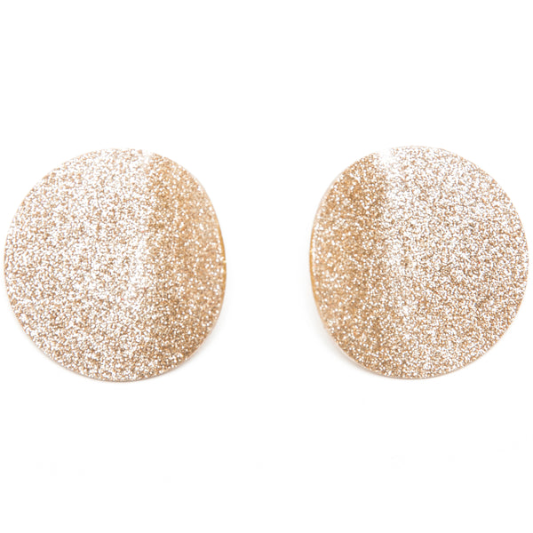 "SOHO Earrings ""Light Gold Warm"" M"