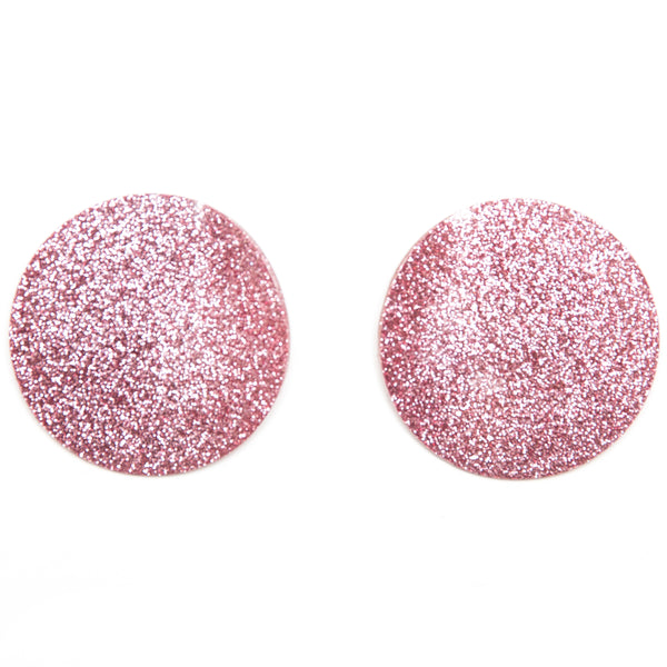 "SOHO Earrings ""Light Pink"" M"