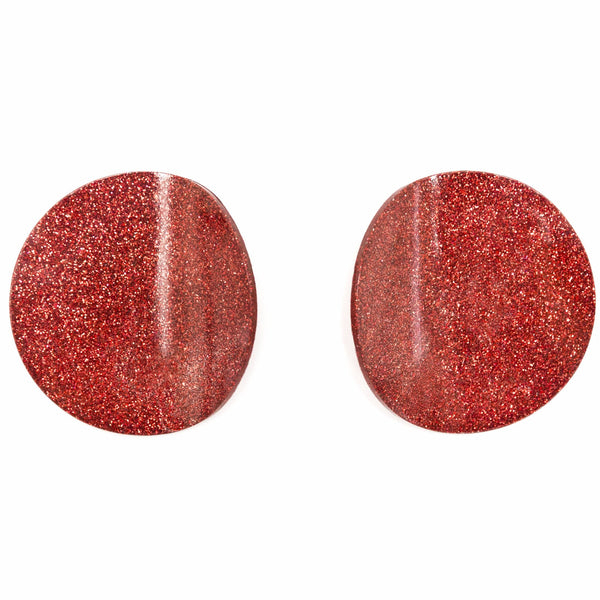 "SOHO Earrings ""Red"" M"