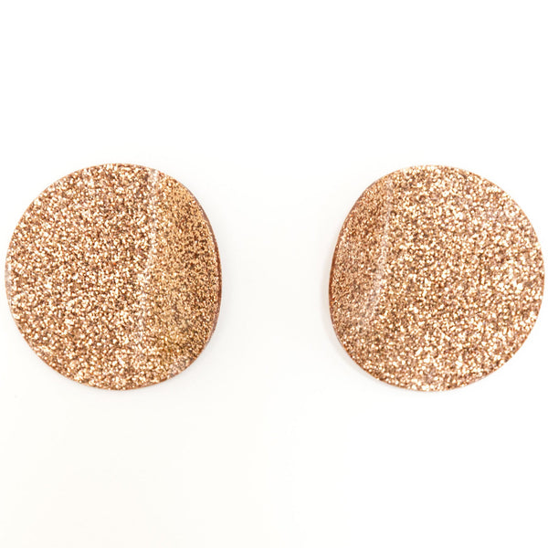"SOHO Earrings ""Rose Gold"" M"
