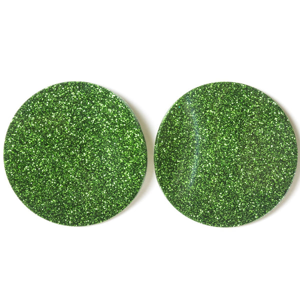 "SOHO Earrings ""Salad Green"" M"