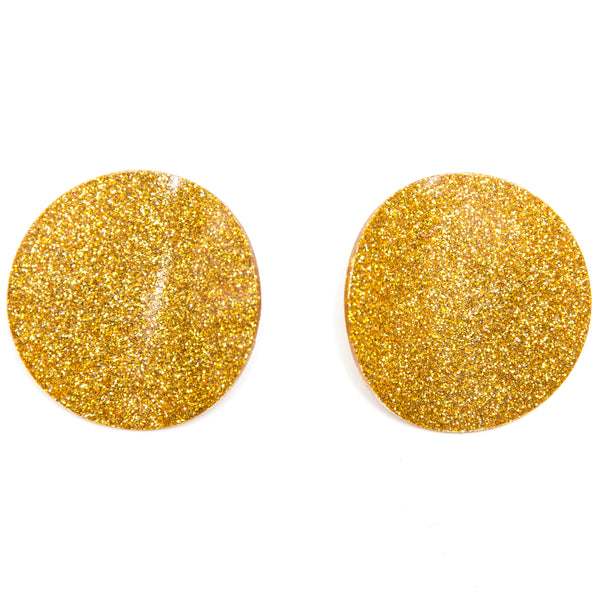 "SOHO Earrings ""Yellow"" M"