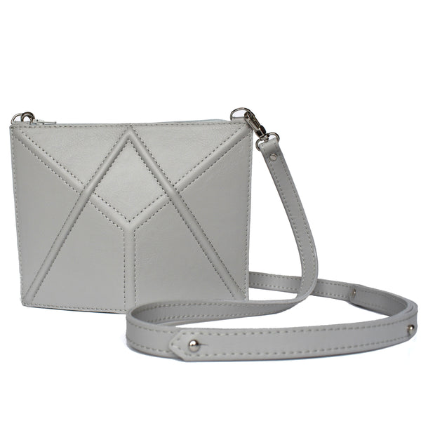 "Facet mini bag ""Gray"""