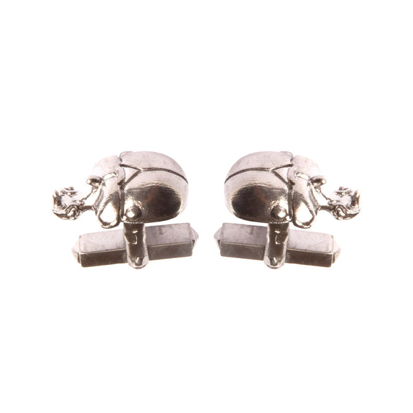 "Light Scarab Cufflinks ""NEFFI"""