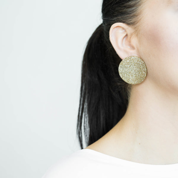 "SOHO Earrings ""Nude"" S"