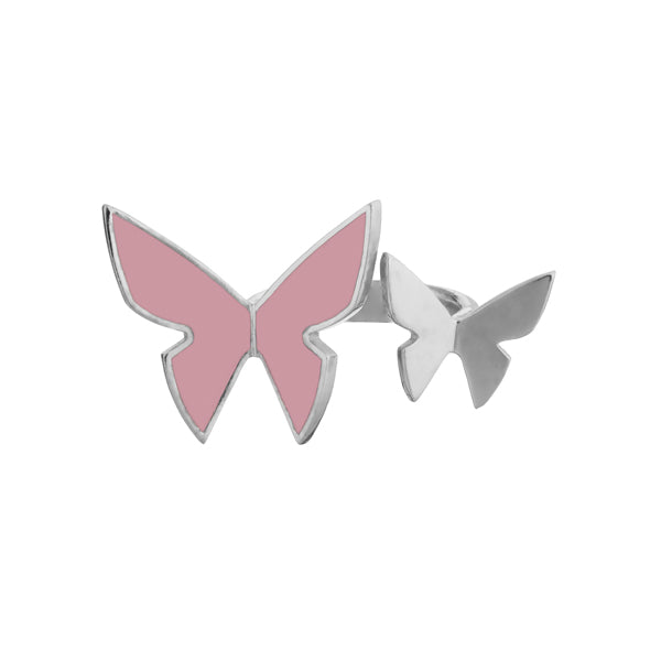 "Les Papillons Double Ring ""Pink"""