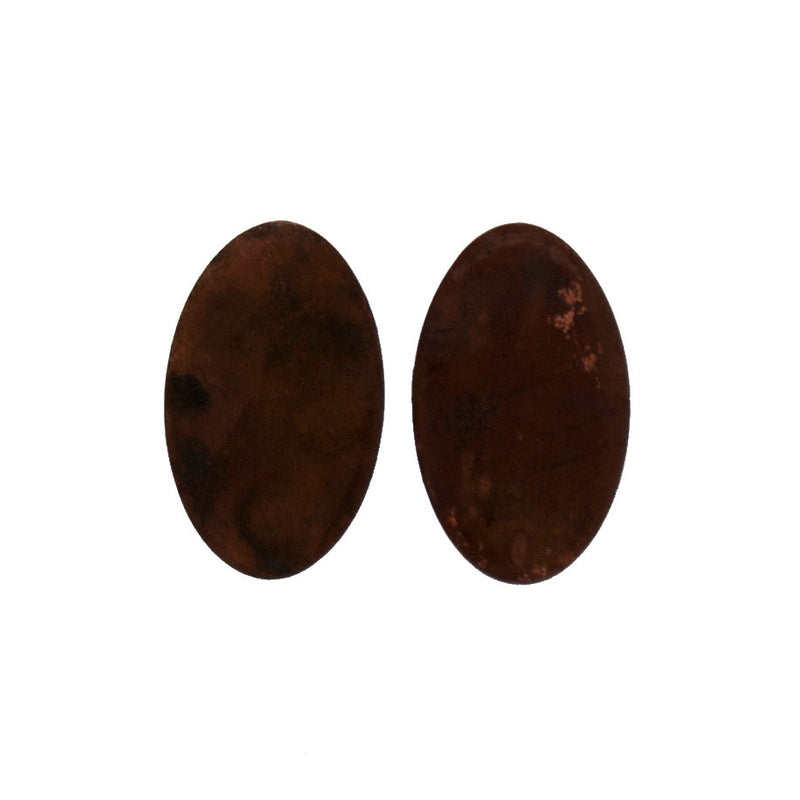 "Two Cents Earrings ""Dark"" M"
