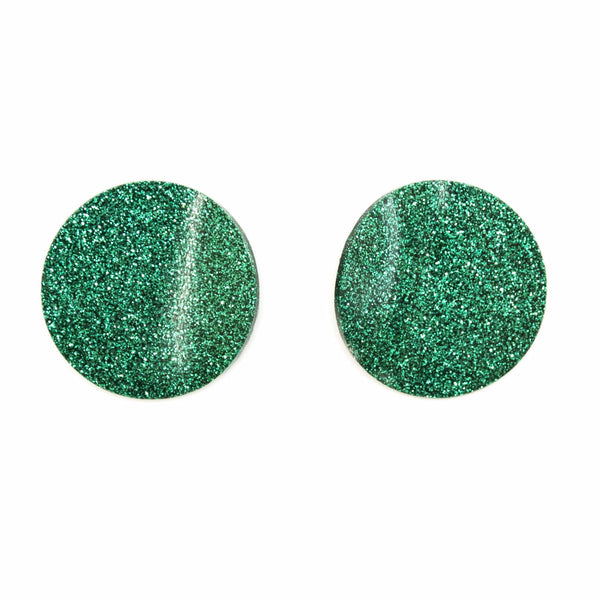 "SOHO Earrings ""Emerald"" S"