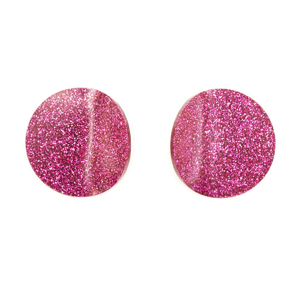 "SOHO Earrings ""Fuchsia"" S"