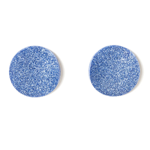 "SOHO Earrings ""Light Blue"" S"