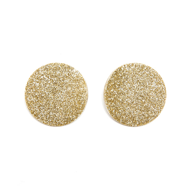 "SOHO Earrings ""Light Gold"" S"